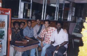 Prasanthan, Shakeel, Sreekumar & Lijo in Mohan's Bakery