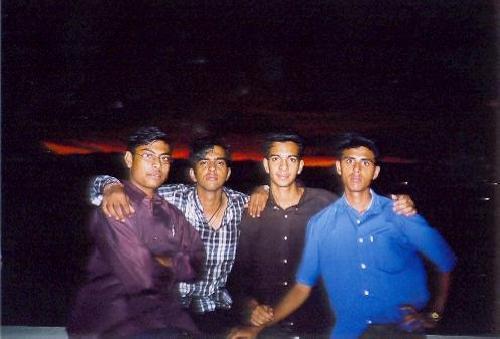 Pramod, Vimal & Lijo on the terrace
