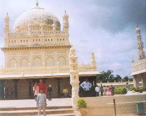 Front of the Mysore Palace