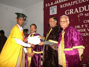 Graduation Day: Arun K Nair