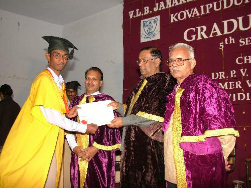 Graduation Day: Arun K Nair