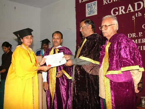 Graduation Day: Mini Balakrishnan