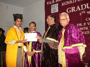 Graduation Day: Padmanabhan Ramankandath
