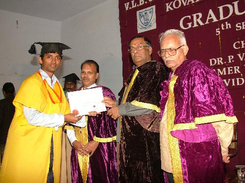 Graduation Day: Santhosh Kumar