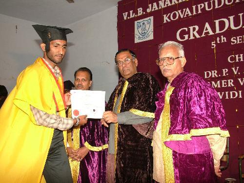 Graduation Day: Sudheer T K